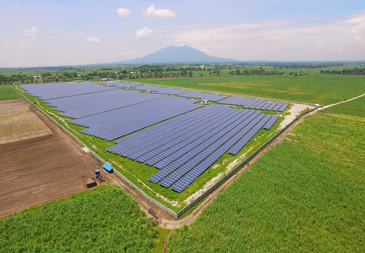 Sigma II Solarpark Philippinen