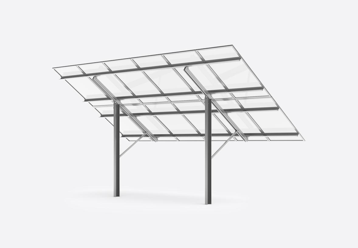 Sigma I open terrain system for solar plants